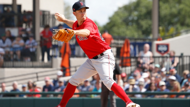 Boston Red Sox pitcher Ryan Weber