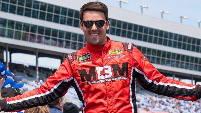 NASCAR driver Timmy Hill