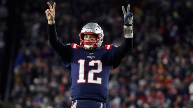 Free agent quarterback Tom Brady