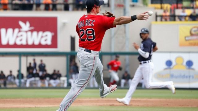 Pawtucket Red Sox infielder Bobby Dalbec