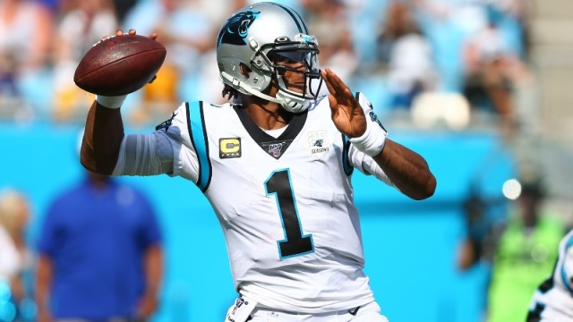 Carolina Panthers Cam Newton