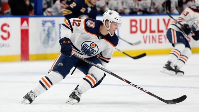 Edmonton Oilers forward Colby Cave