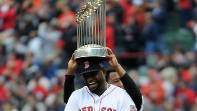Boston Red Sox legend David Ortiz