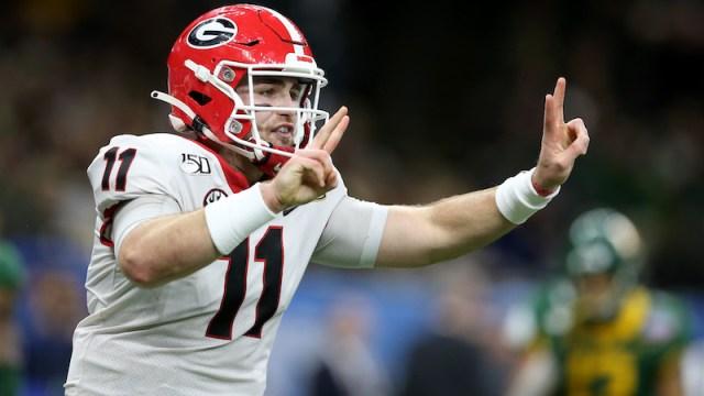 Georgia quarterback Jake Fromm