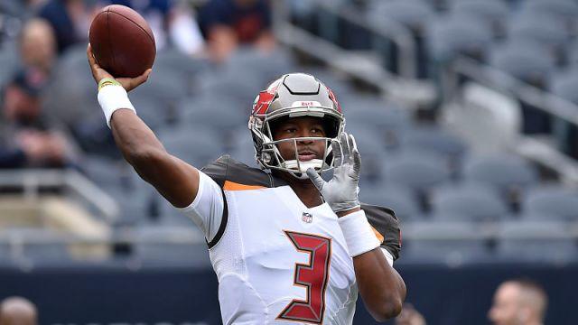 NFL quarterback Jameis Winston