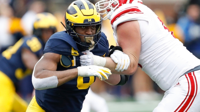 Michigan Wolverines linebacker Josh Uche