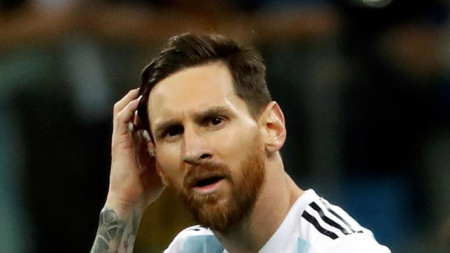 FC Barcelona and Argentina forward Lionel Messi