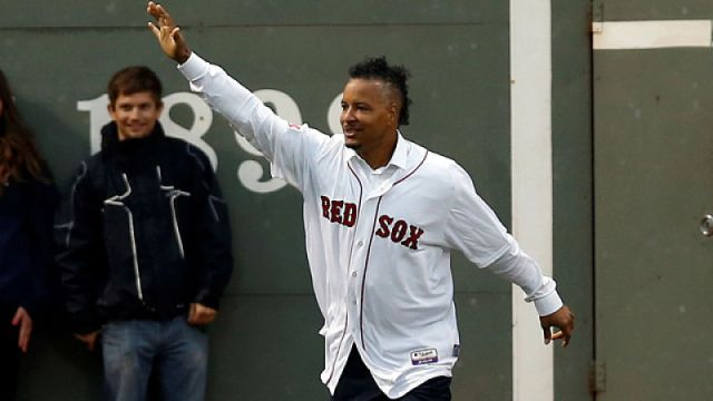 Boston Red Sox outfielder Manny Ramirez