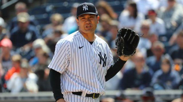 New York Yankees' Masahiro Tanaka