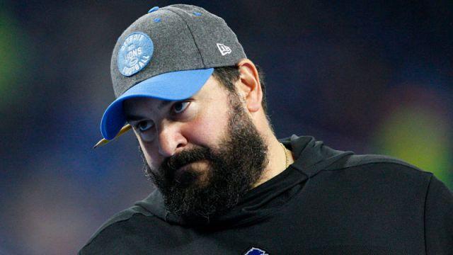 Detroit Lions head coach Matt Patricia