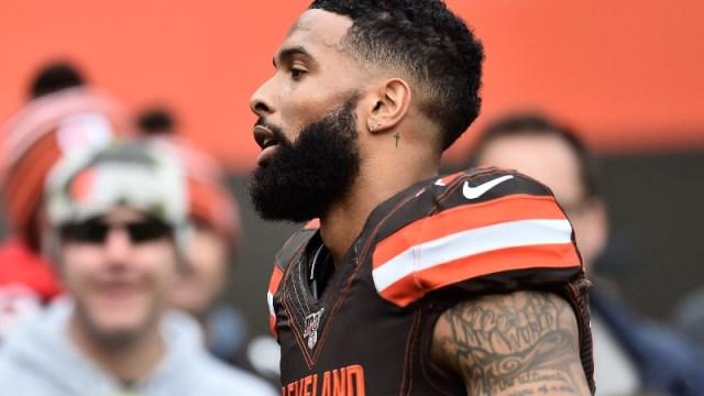Cleveland Browns wide receiver Odell Beckham Jr.