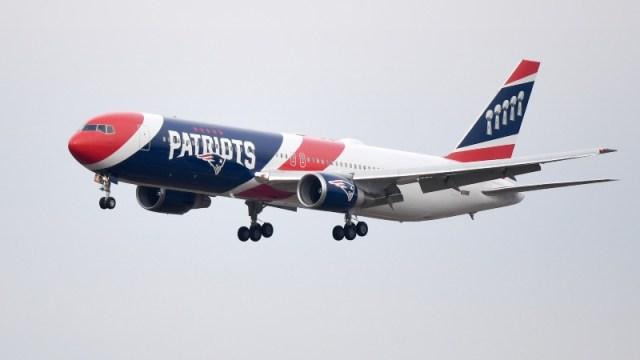 "New England Patriots Plane ""Air Kraft"""