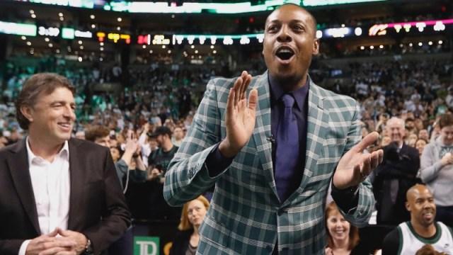 Boston Celtics legend Paul Pierce