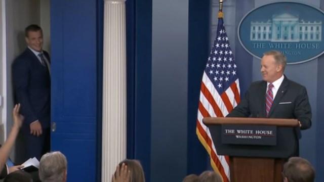 Rob Gronkowski, Sean Spicer