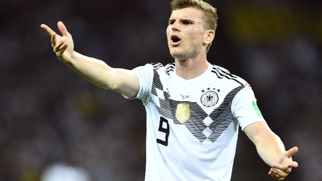 Germany and RB Leipzig striker Timo Werner