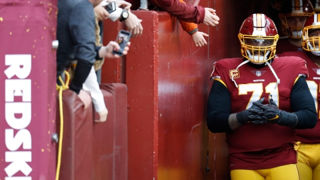 San Francisco 49ers offensive tackle Trent Williams