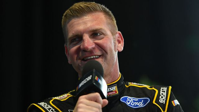 NASCAR driver Clint Bowyer