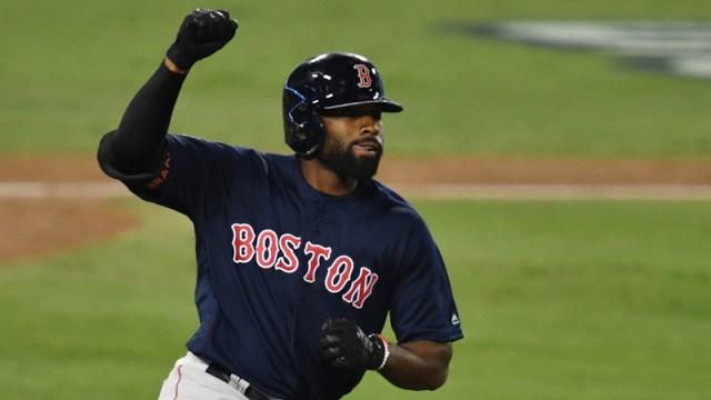 Boston Red Sox outfielder Jackie Bradley Jr.