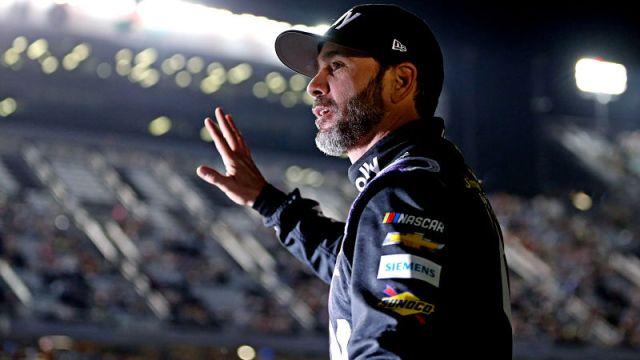 NASCAR driver Jiimmie Johnson