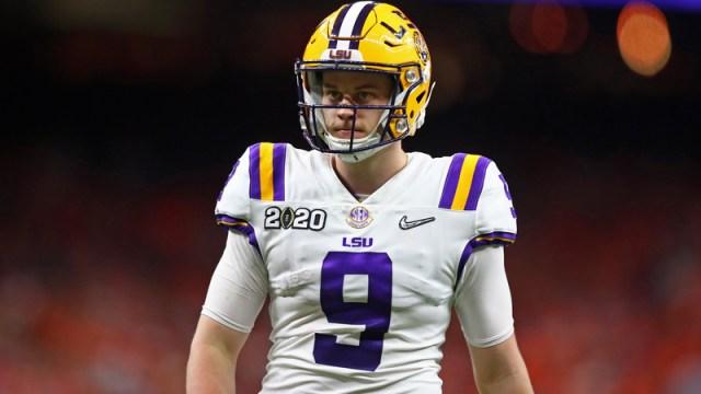 NFL Draft prospect Joe Burrow