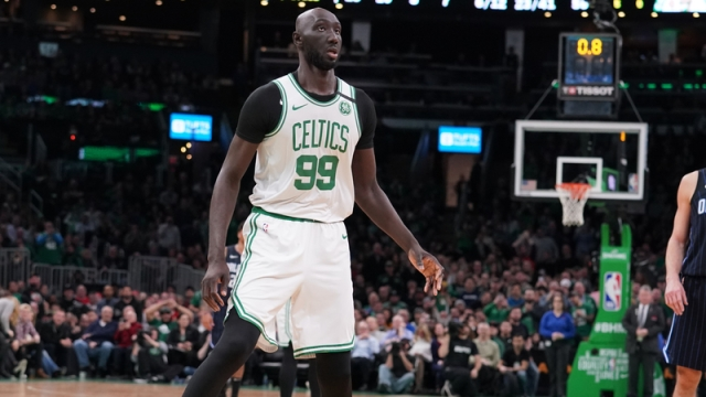 Boston Celtics' Tacko Fall