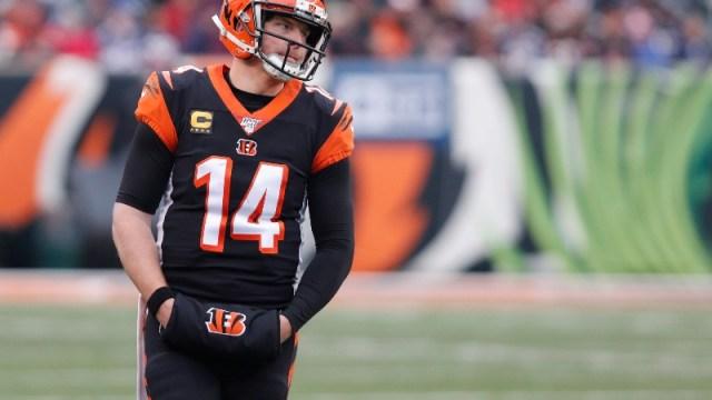 NFL quarterback Andy Dalton