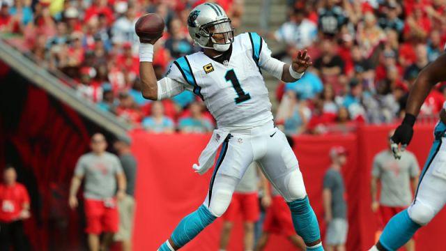 NFL quarterback Cam Newton