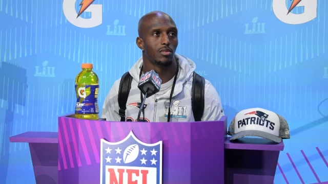 New England Patriots defensive back Devin McCourty