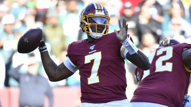 Washington Redskins' Dwayne Haskins