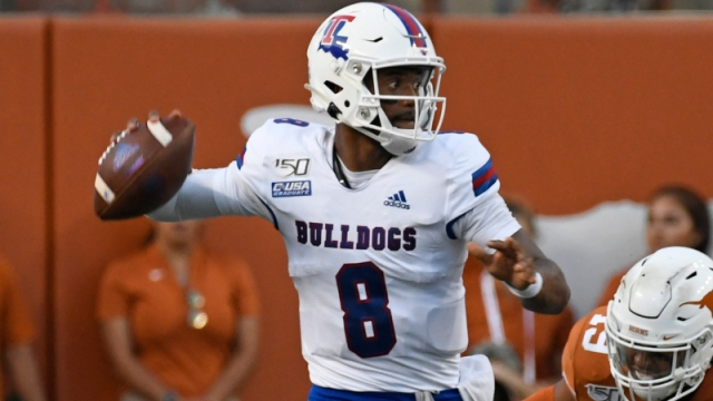 Louisiana Tech Bulldogs quarterback J'Mar Smith