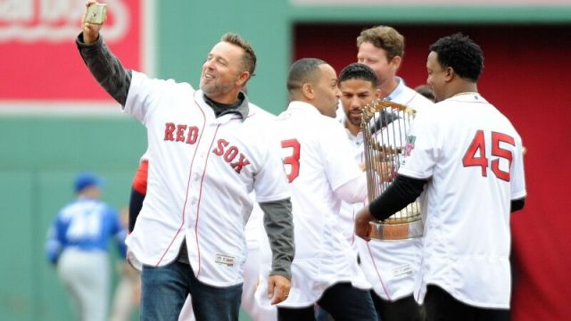 Former Boston Red Sox Kevin Millar