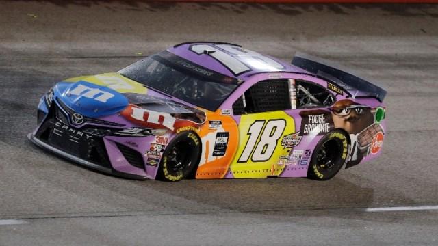 NASCAR Cup Series driver Kyle Busch (18)