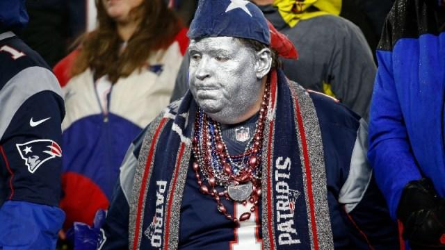 A New England Patriots fan