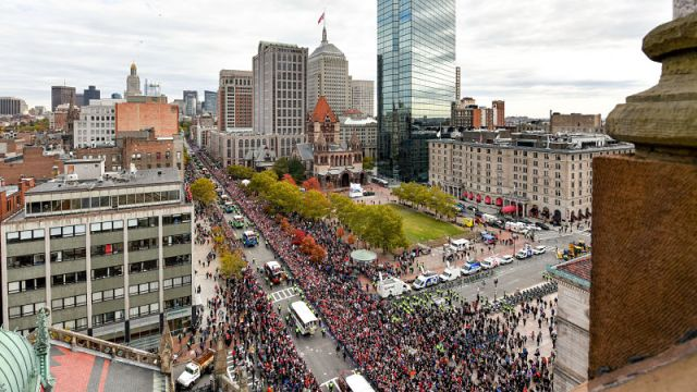 Red Sox World Series parade