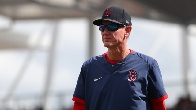 Boston Red Sox manager Ron Roenicke