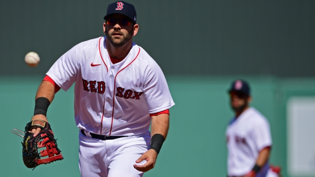 Boston Red Sox First Basemen Mitch Moreland