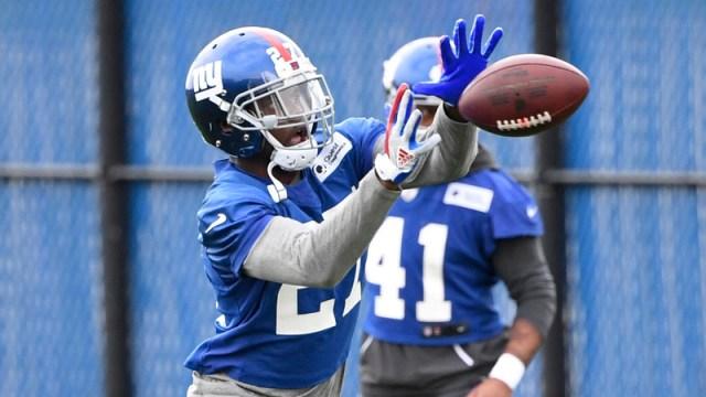 New York Giants cornerback DeAndre Baker