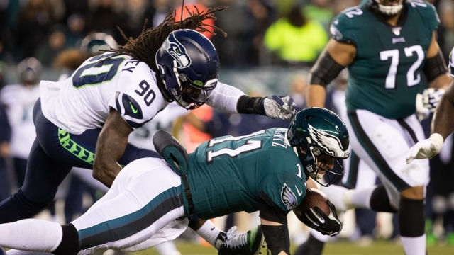 Seahawks defensive end Jadeveon Clowney