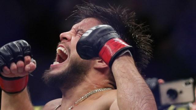 UFC featherweight Henry Cejudo