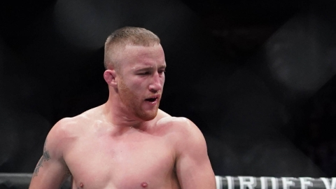 UFC interim lightweight champion Justin Gaethje