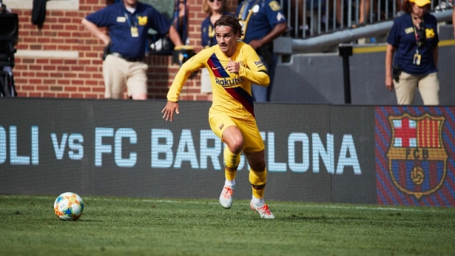Barcelona forward Antoine Griezmann