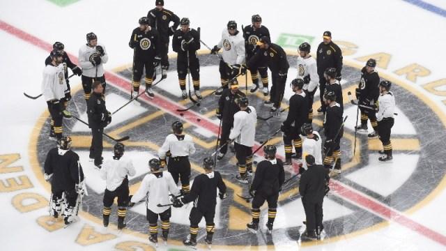Boston Bruins players