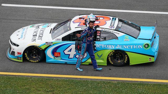 NASCAR driver Bubba Wallace