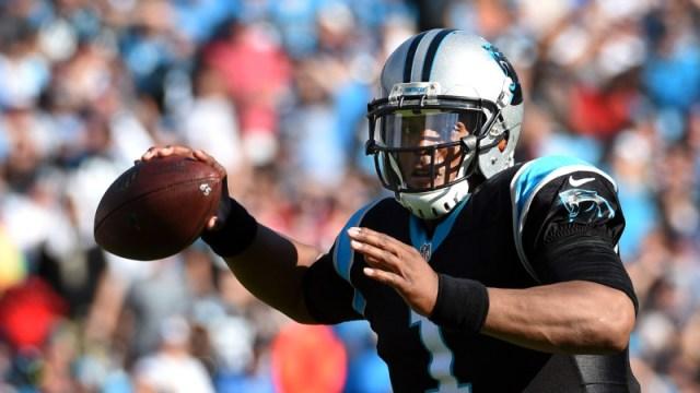 Former Carolina Panthers quarterback Cam Newton