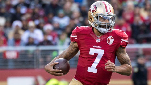 Former San Francisco 49ers quarterback Colin Kaepernick