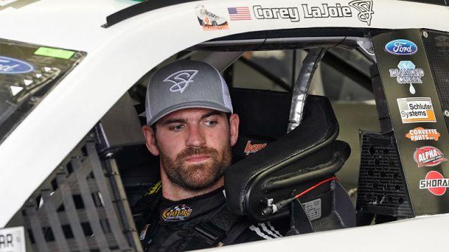 NASCAR driver Corey LaJoie