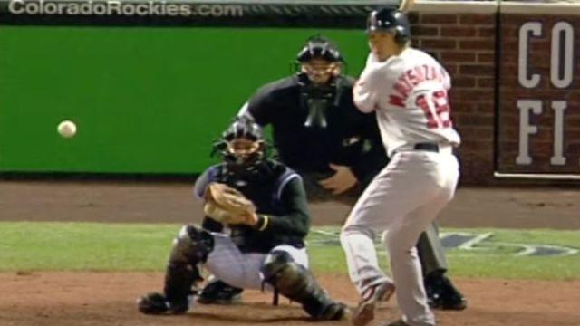 Boston Red Sox pitcher Daisuke Matsuzaka