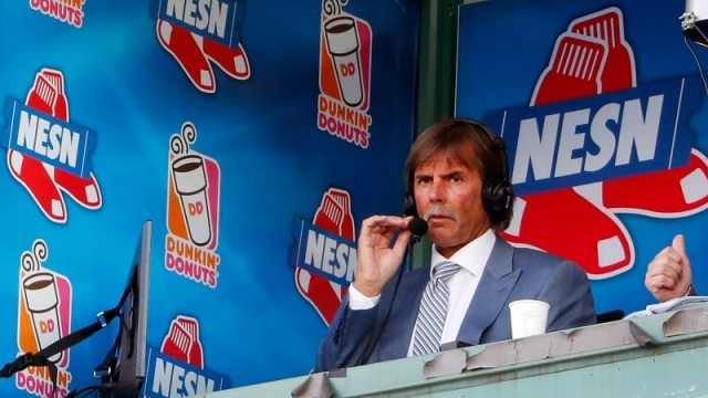 Hall of Fame pitcher and Boston Red Sox broadcaster Dennis Eckersley