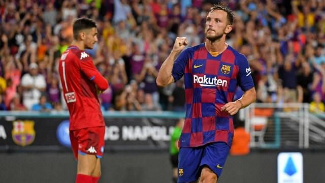 Barcelona midfielder Ivan Rakitic