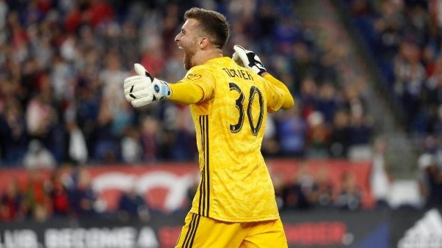 New England Revolution goalkeeper Matt Turner